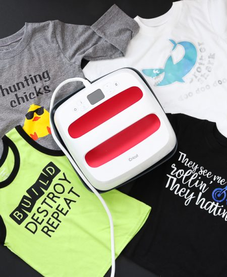 We are talking about the best iron-on vinyl for Cricut as well as how to use it with your Cricut EasyPress 2.