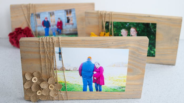 Learn how to make a picture frame from scrap wood for personalized, rustic decor
