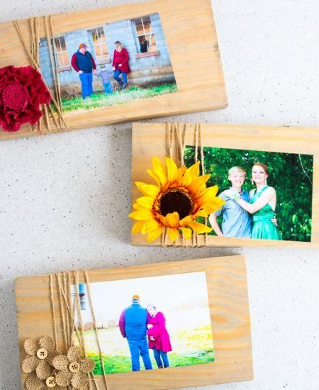 Various designs for making picture frames for every room in your home.