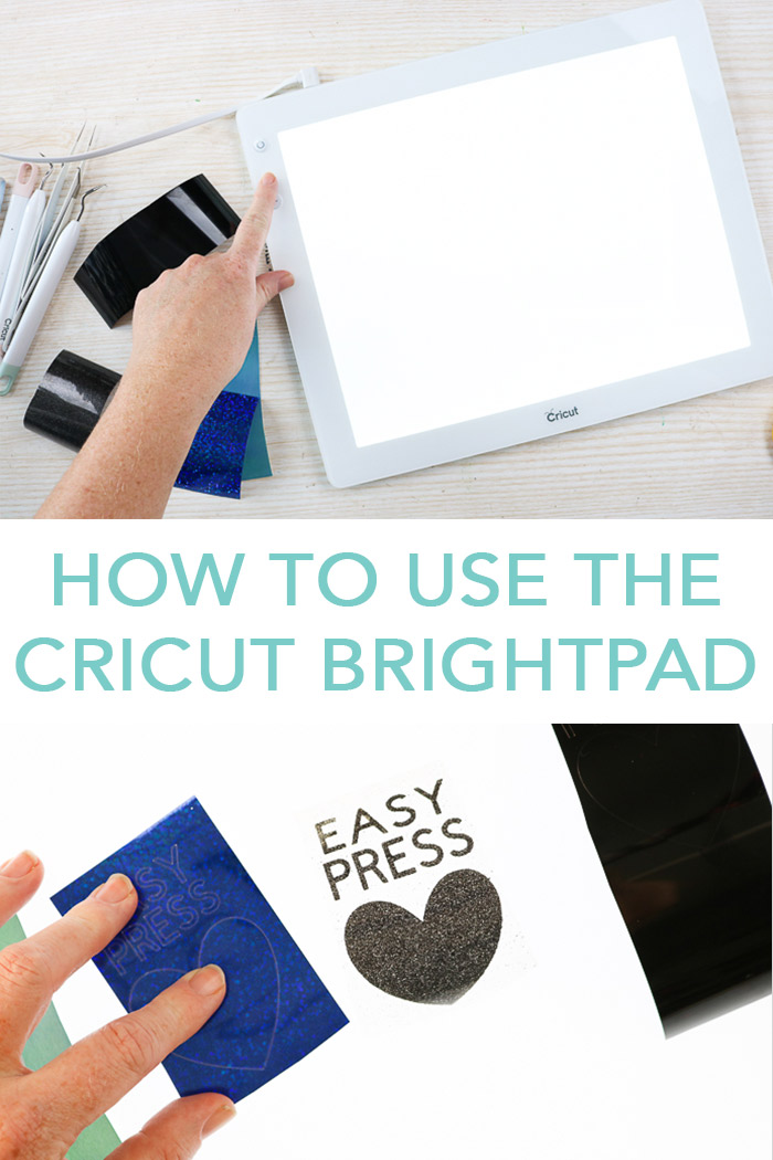 Learn how to use the Cricut BrightPad and if you need one to weed iron-on, vinyl, and more! #cricut #cricutmade #cricutbrightpad