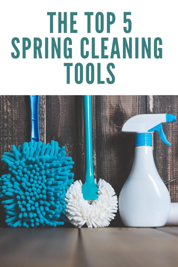 The top 5 spring cleaning tools that will help you get the job done right! #springcleaning #cleaning #spring