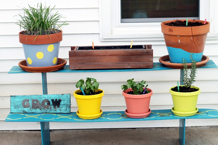Try a container vegetable garden for the ultimate in small space gardening.