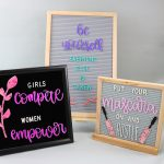 DIY Letter Board Accessories with Your Cricut