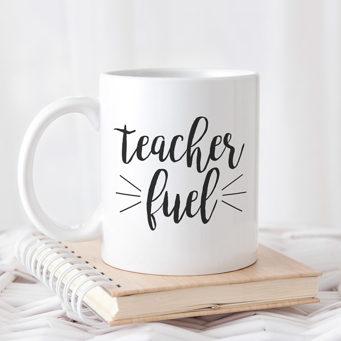 Teacher SVG file for your Cricut or Silhouette machine for free download.