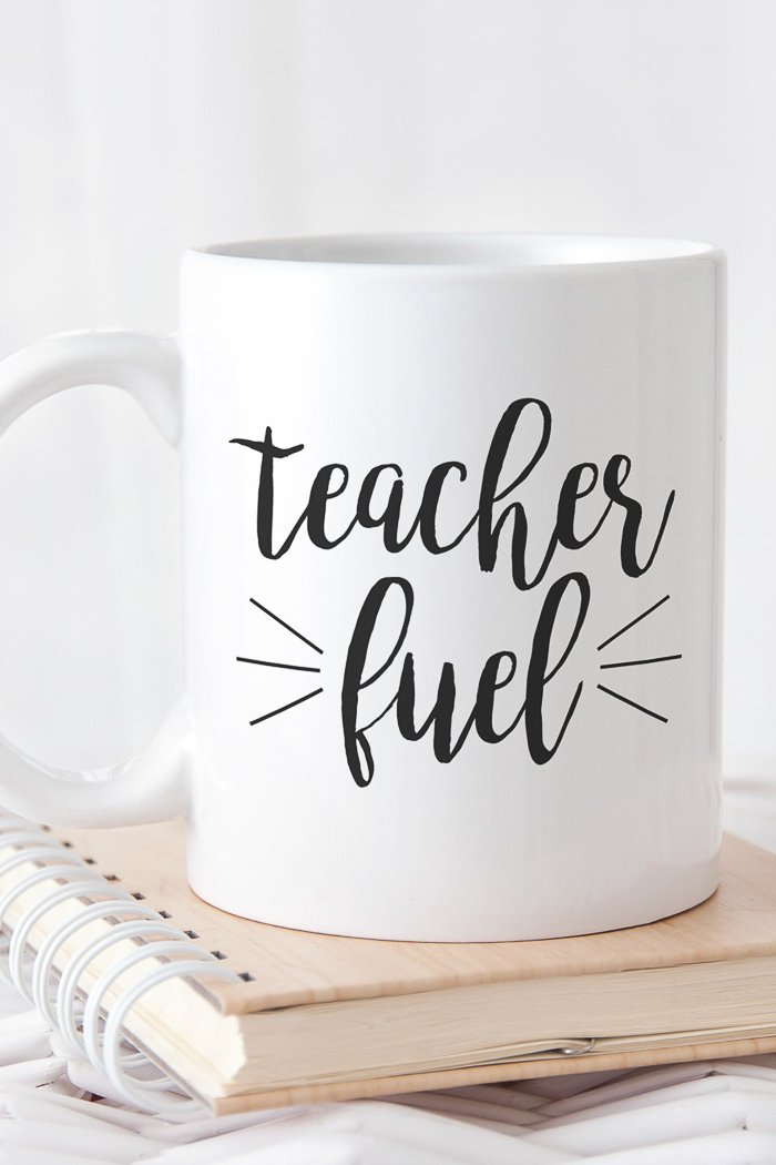 Free teacher svg files including this teacher fuel file!