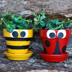 Pot Decoration Ideas for Testors Crafternoons