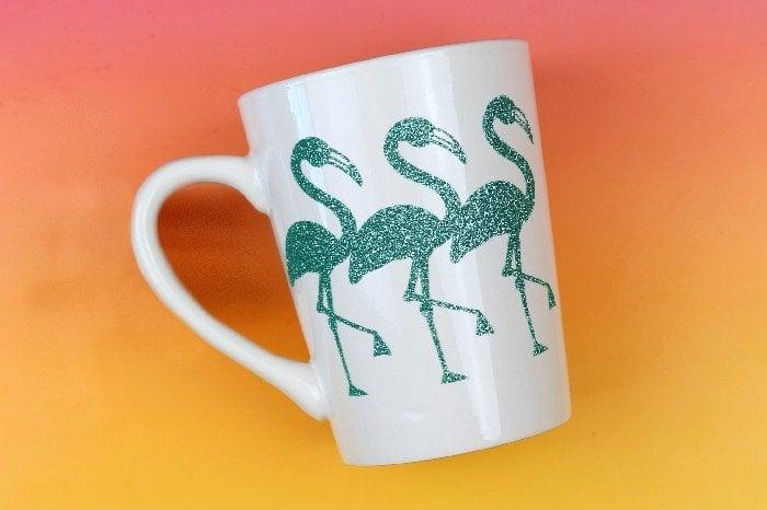 flamingo coffee cup