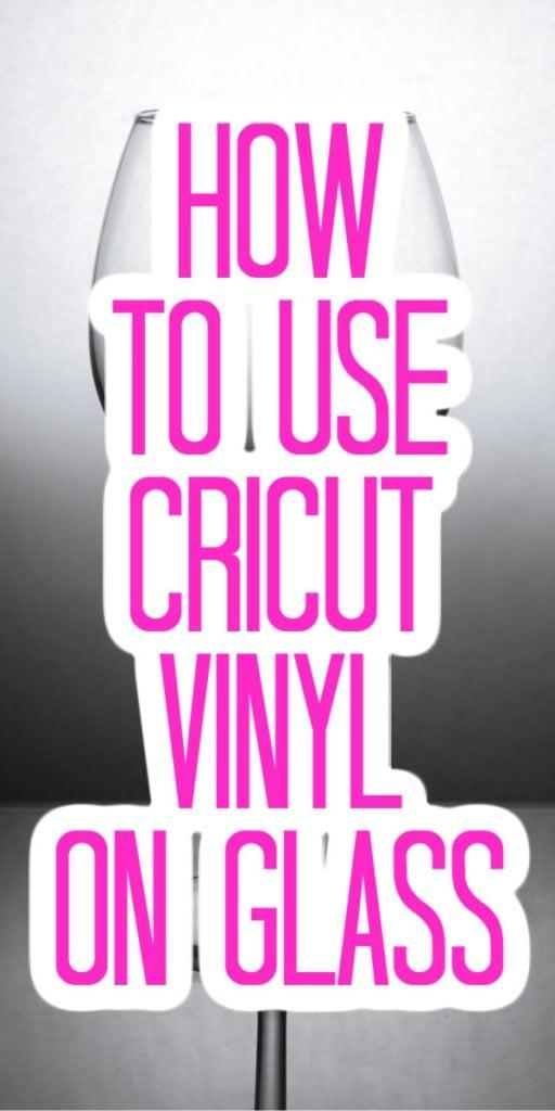 cricut vinyl on glass