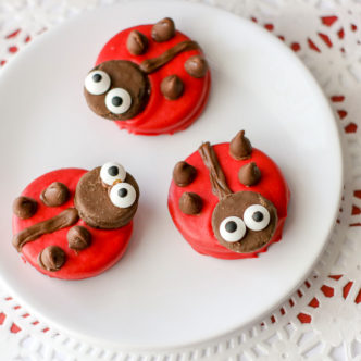 Ladybug Cookies Perfect for Spring
