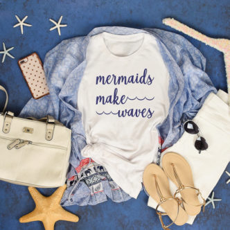 Mermaid SVG File for Free