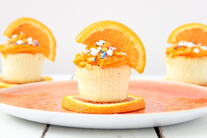 easy orange cupcakes that you will love