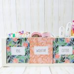 How to Make a Craft Supplies Organizer with Your Cricut Machine