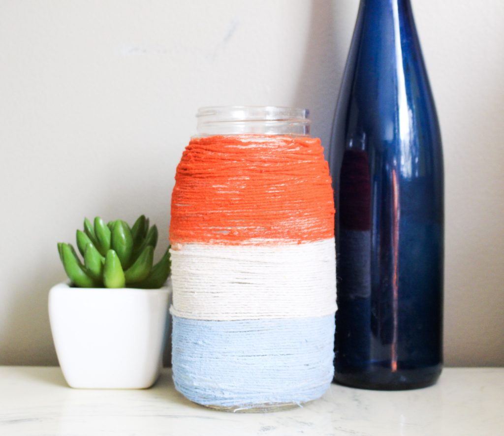 Patriotic-Mason-Jar-with-twine