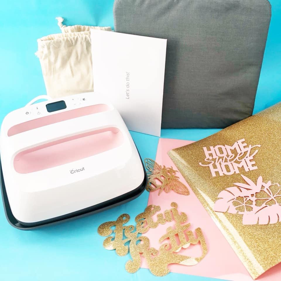 Win the Cricut EasyPress bundle in rose