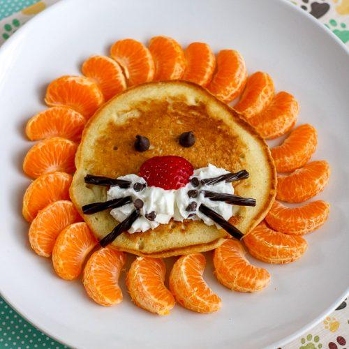 lion pancakes