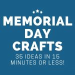 35 Memorial Day Crafts to Kick off Summer