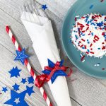 Make Easy Patriotic Table Accents