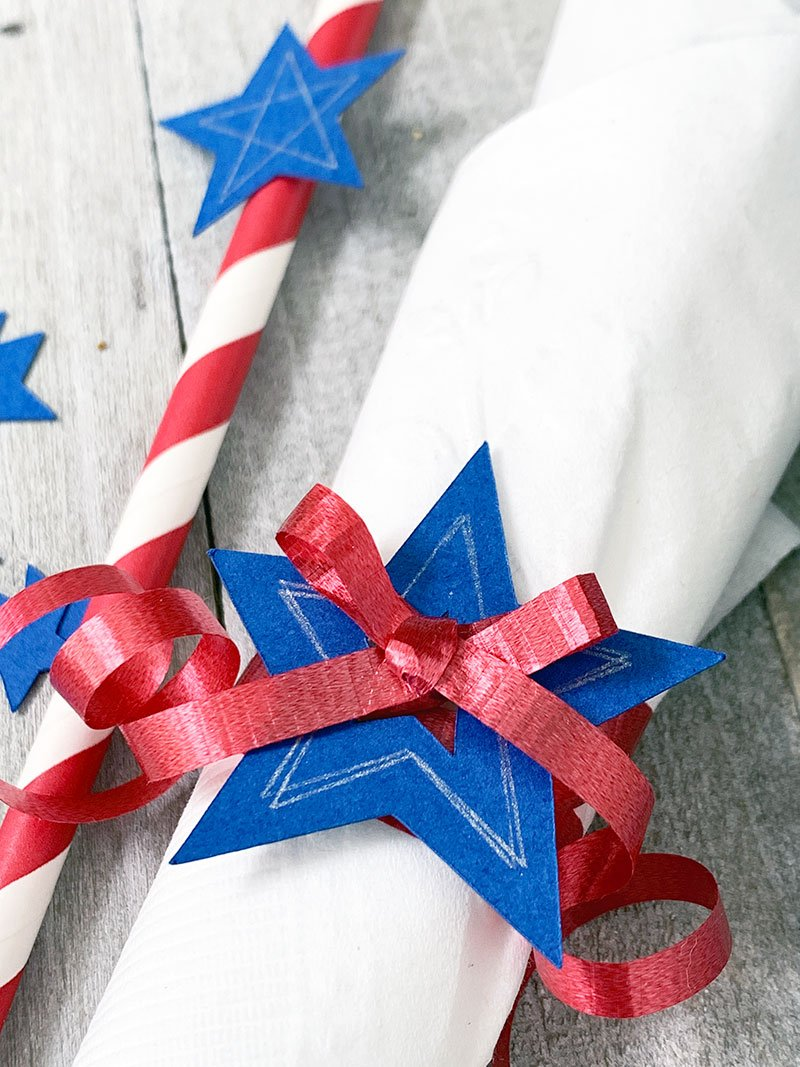 patriotic table accents for summer