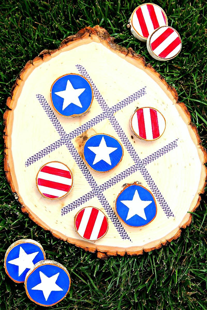 patriotic tic tac toe