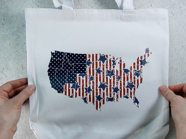 patriotic tote-bag