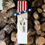 Uncle Sam Decorations from Scrap Wood