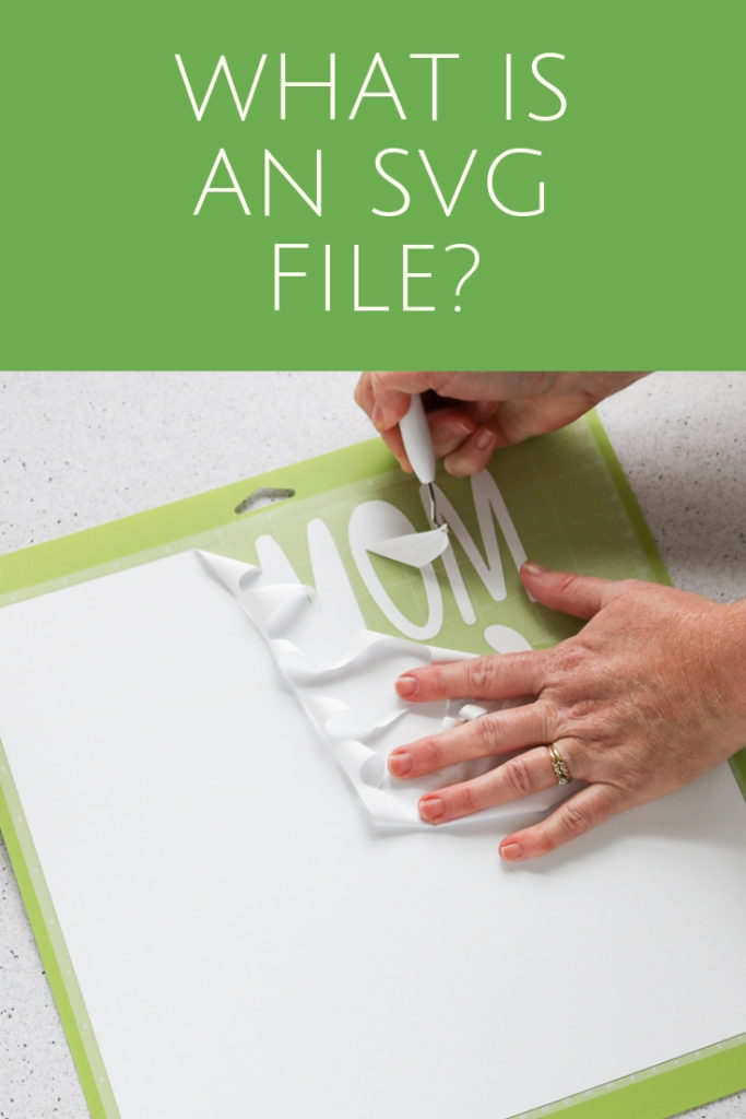 What is an SVG file? Learn all about this type of file and how to use it with your Cricut and Silhouette machines! #cricut #cricutmade #svg #svgfile #silhouette #silhouettecameo