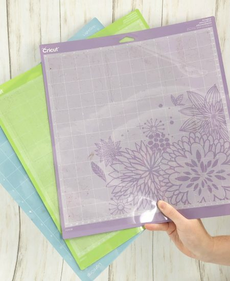 Learn how to wash Cricut mats and extend the life! These tips will help you save money on all of your Cricut crafts! #cricut #cricutmade #cricutcrafts #cricutmats