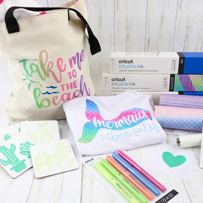 Cricut infusible ink projects