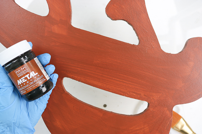 rust effect paint from modern masters
