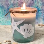 DIY Sea Shell Votive Candle Craft