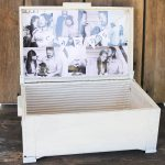 Wedding Card Box Personalized with Pictures