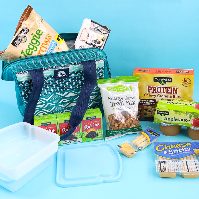 lunch box ideas from Dollar General