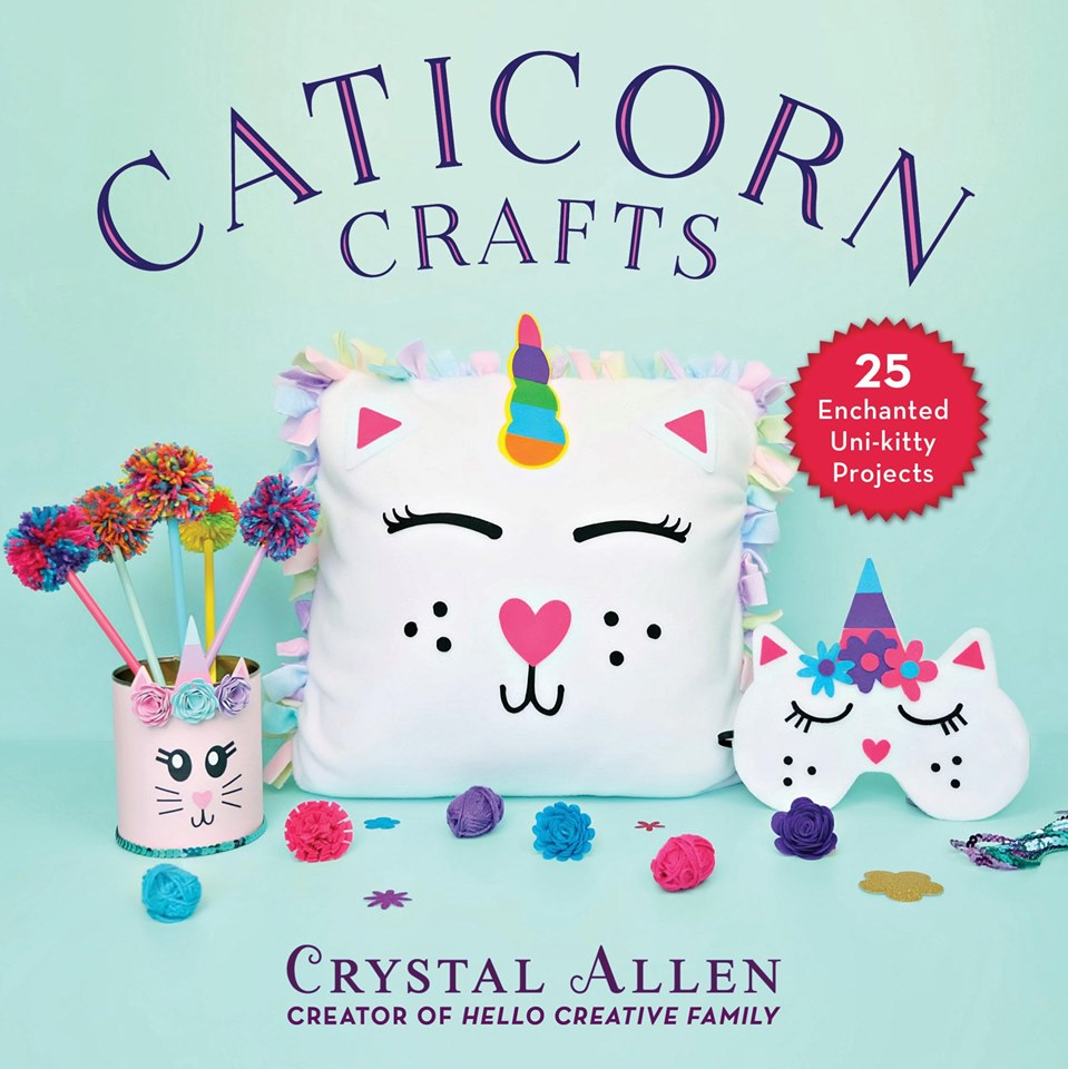Find endless fun with this collection of Caticorn craft projects