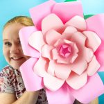 Giant Paper Flowers with Your Cricut