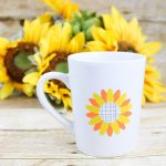 How to Layer Vinyl and a Free Sunflower SVG