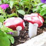 How to Paint Stones to Look Like Mushrooms