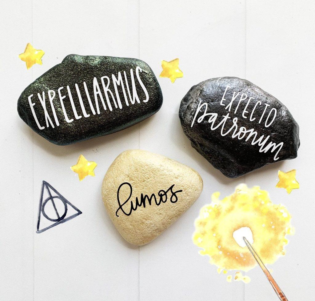 painted-rocks-harry-potter-1