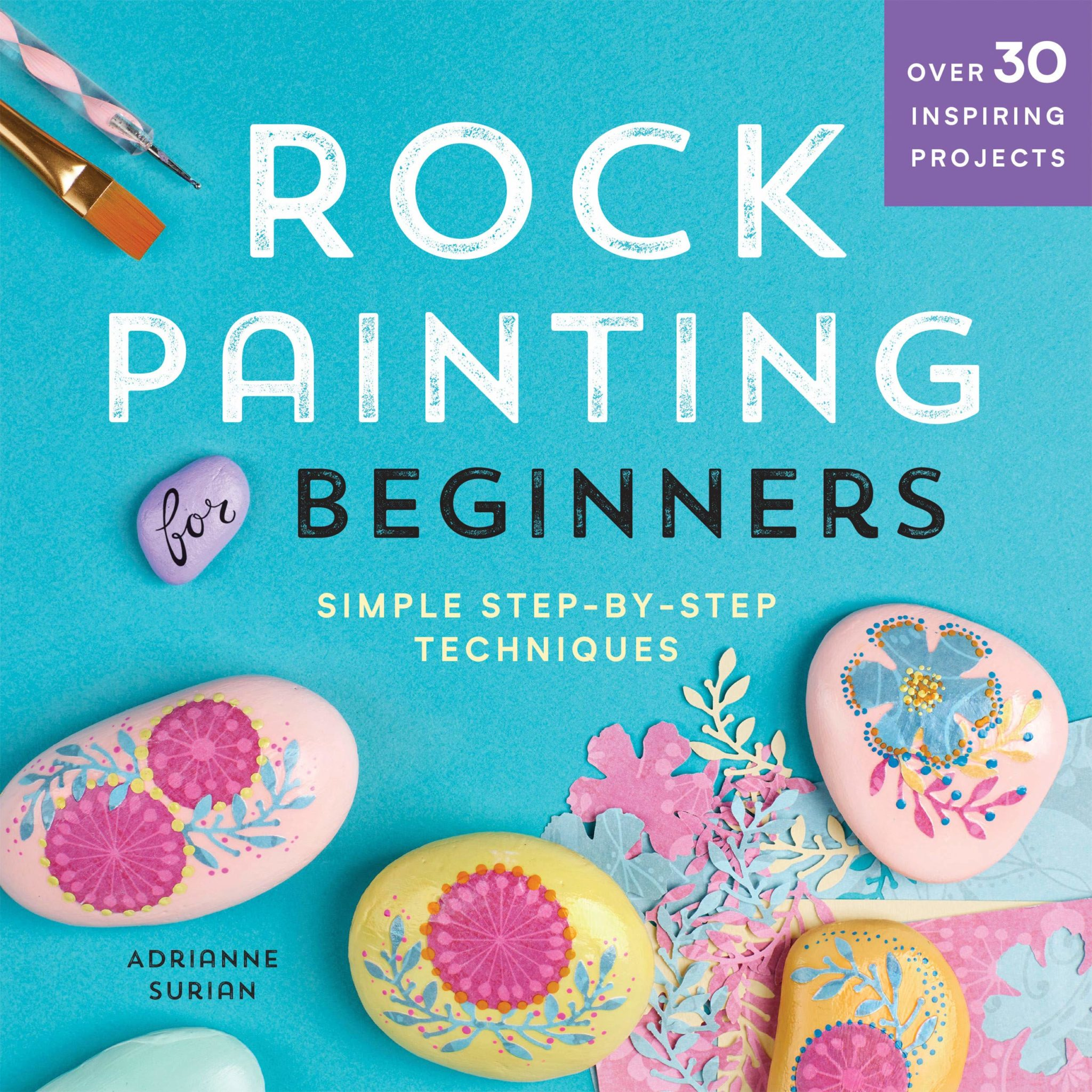 rock painting for beginners book