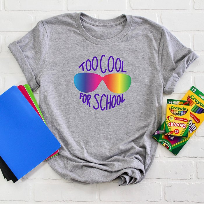 school svg for making back to school shirts