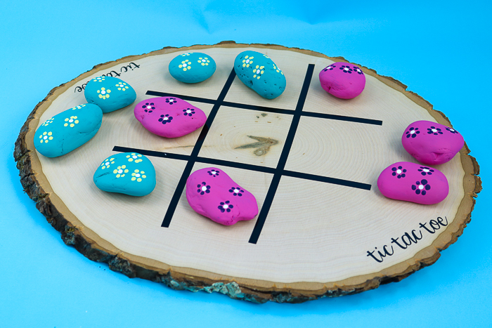 rock tic tac toe game