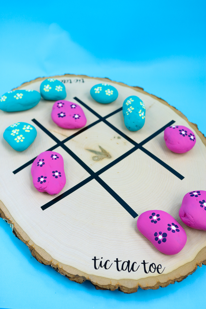 how to make a tic tac toe board game