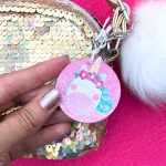 DIY Unicorn Charm with Free Unicorn SVG