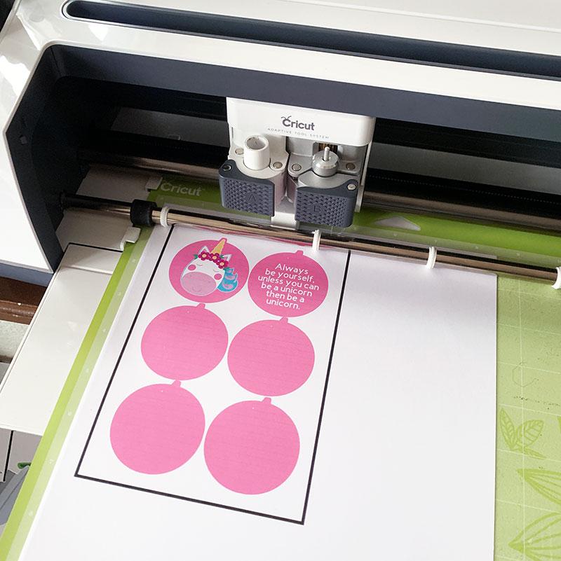 print then cut on Cricut