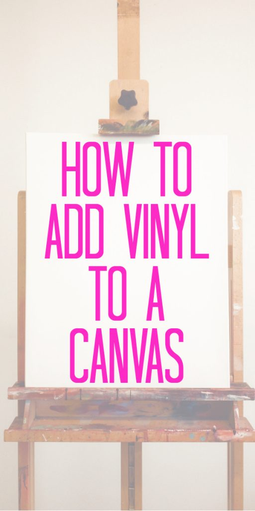 Want to use your Cricut to make canvas art? You can add vinyl to a canvas or even make a reverse canvas easily! See our post with tons of options and ideas for your first project! #cricut #cricutmade #cricutprojects #cricutcrafts #vinyl #canvas #art #decor #homedecor