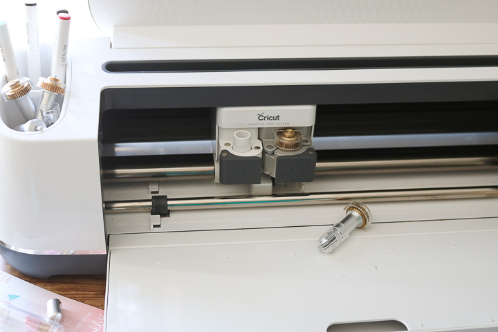 cricut maker with blades