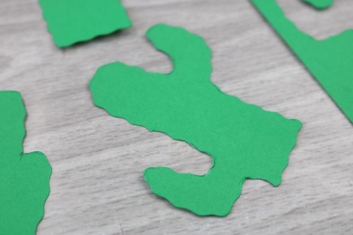 cricut wavy blade cutting cardstock
