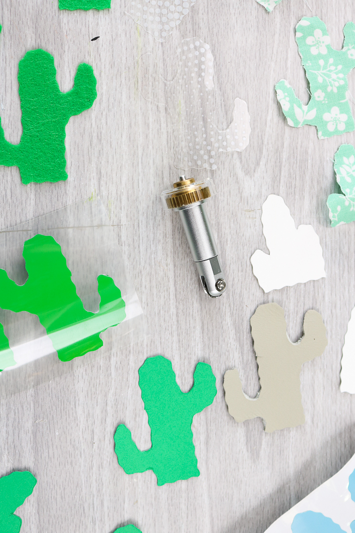 how to use the cricut wavy blade
