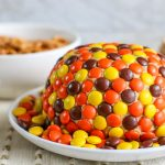 Dessert Ball with Reese's Pieces Candy