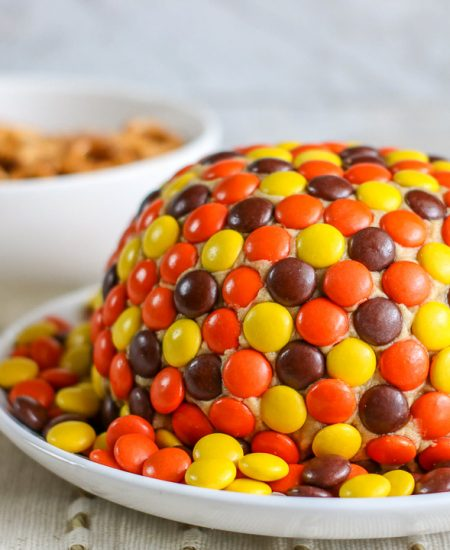 dessert ball with reese's pieces