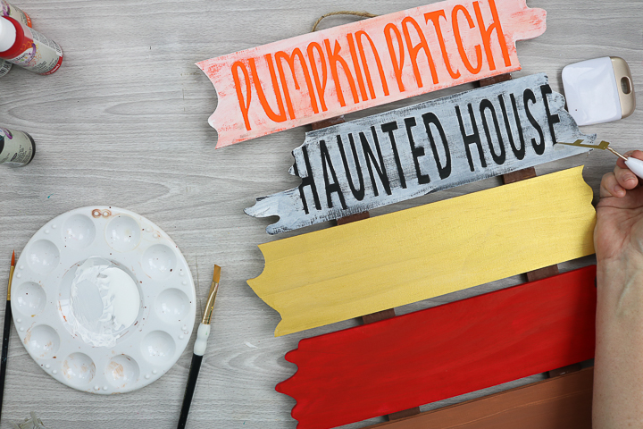 halloween diy sign
